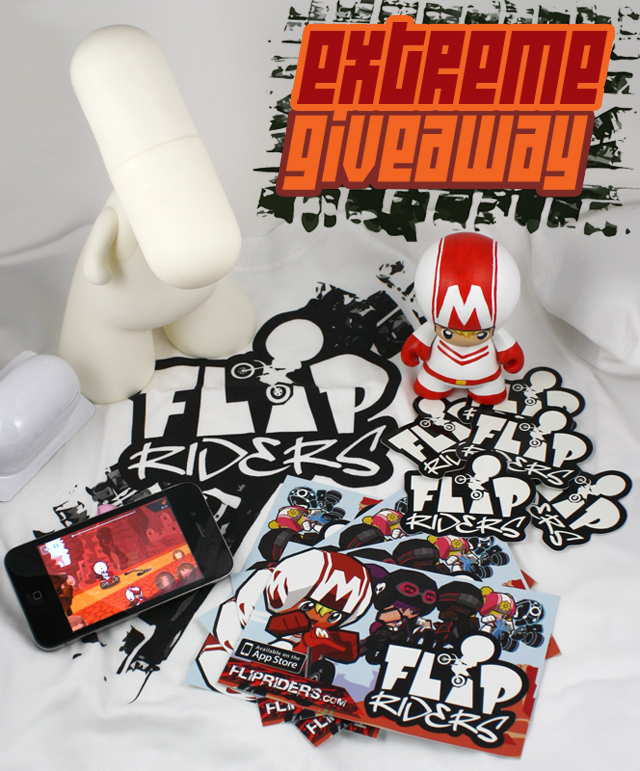 PRIZES for the FLIP RIDERS Fan Art Competition 2011