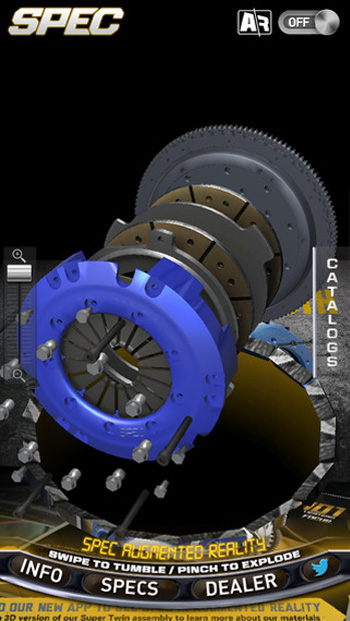 SPEC Clutch - Augmented Reality