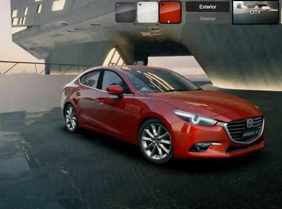 Agimat - Mazda Configurator interactive app